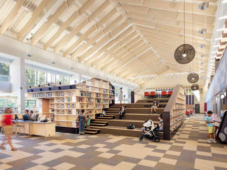 Westport Library in Connecticut transformed into multi-use community hub