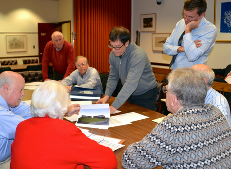 Committee Hears Plans for a New Downtown