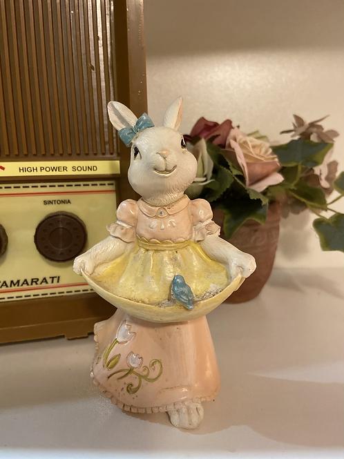 Coelha Decorativa de Laço