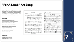 Art Song Composition