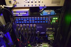 RF Rack Listen Station & Patch Bay