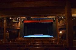 Under Balcony and Stage