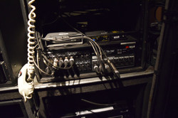 Com Distro Rack - Front View Lower