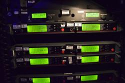 RF Rack Receiver Labels Close-Up