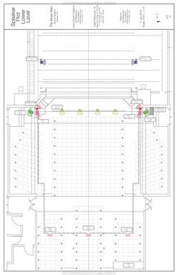 Speaker Plot - Lower Level