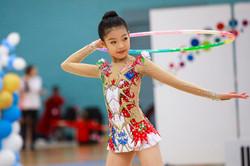 Jiamu , rhythmic gymnastics, hoop