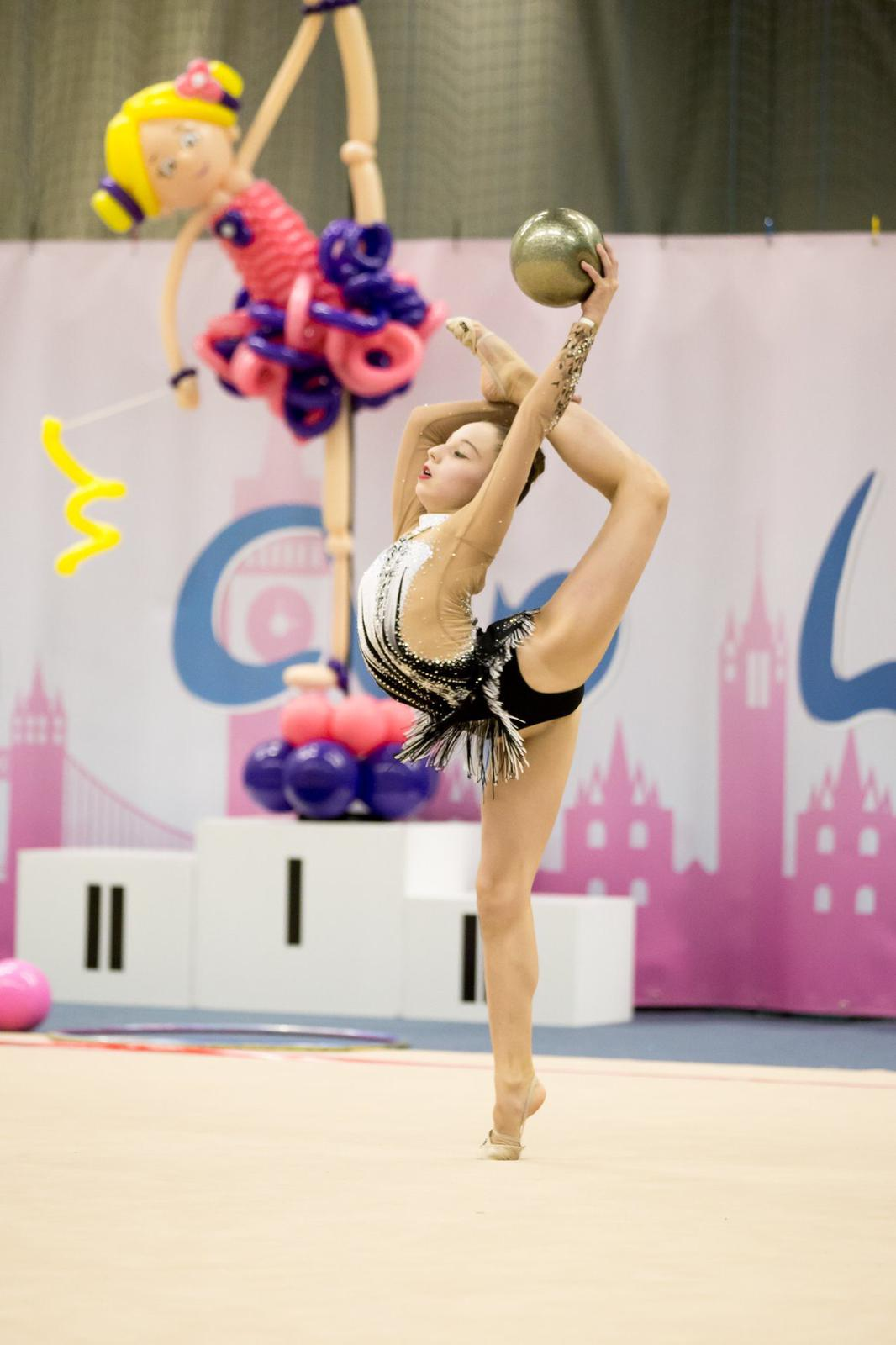rhythmic gymnastics ball