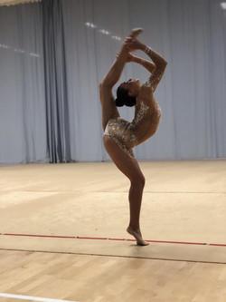 rhythmic gymnastics balance