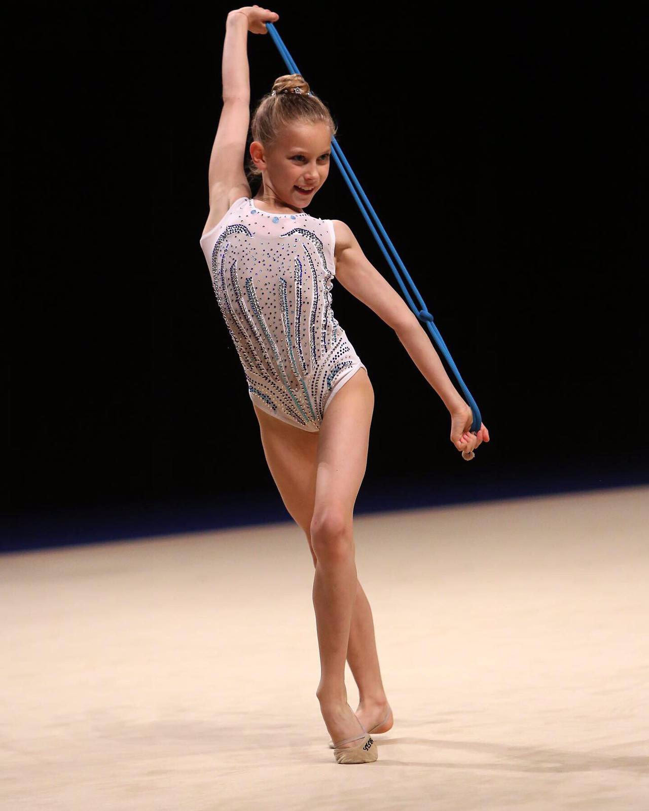 rhythmic gymnastics, rope