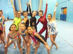 rhythmic gymnastics London