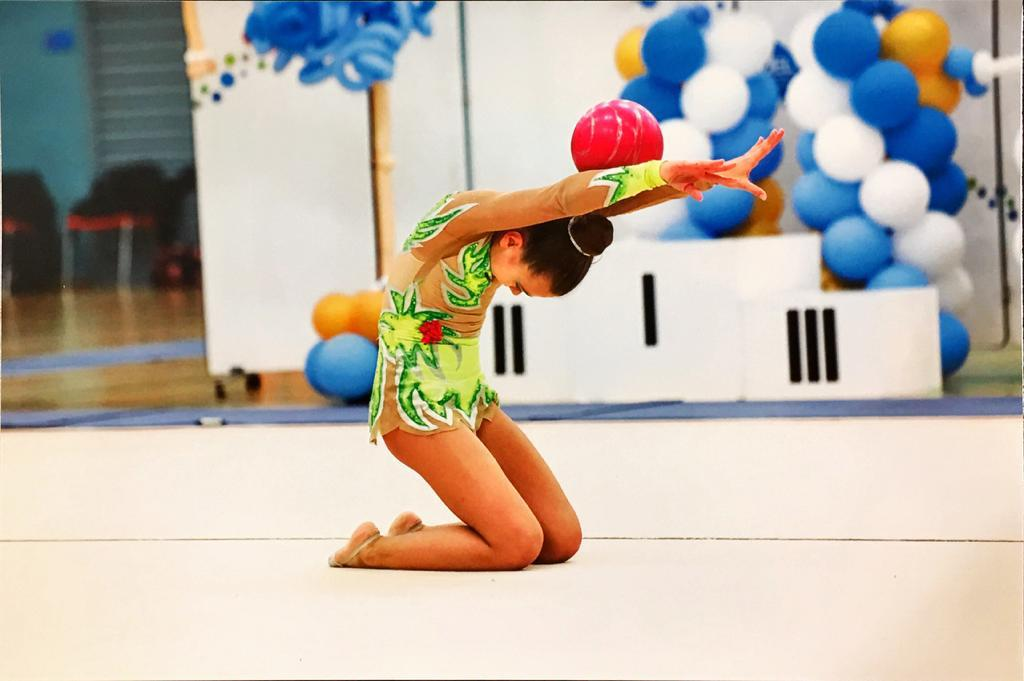Diana - Rhythmic Gymnastics, ball