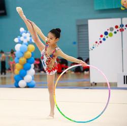 Jiamu - Rhythmic Gymnastics, Hoop