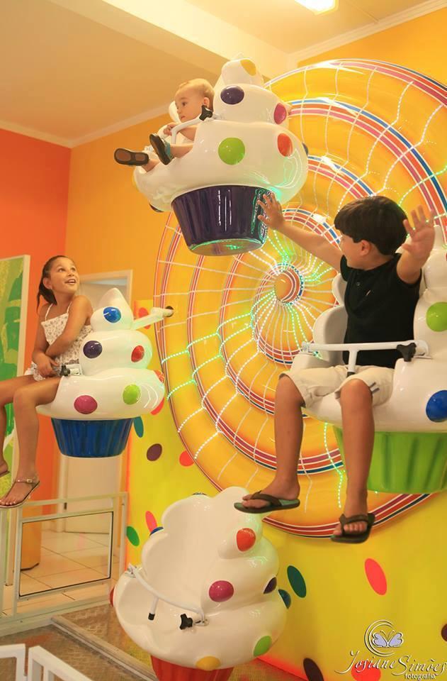 Roda Gigante de cupcakes