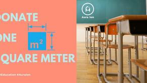 Upgrading Facilities - Donate One Square Meter of flooring