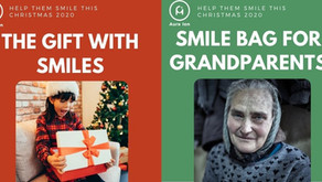 Xmas 2020 - Gifts with Smiles & Smile Bag for Grandparents
