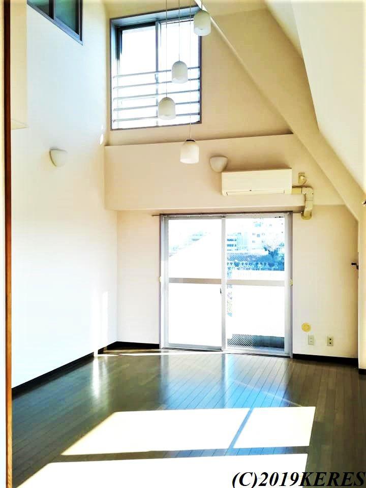 埼玉県でのマンション。メゾネット式で快適だった。