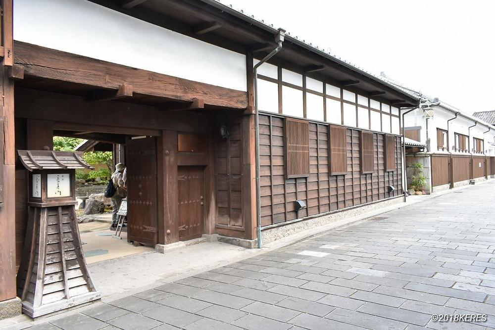 臼杵市のカフェ長屋門