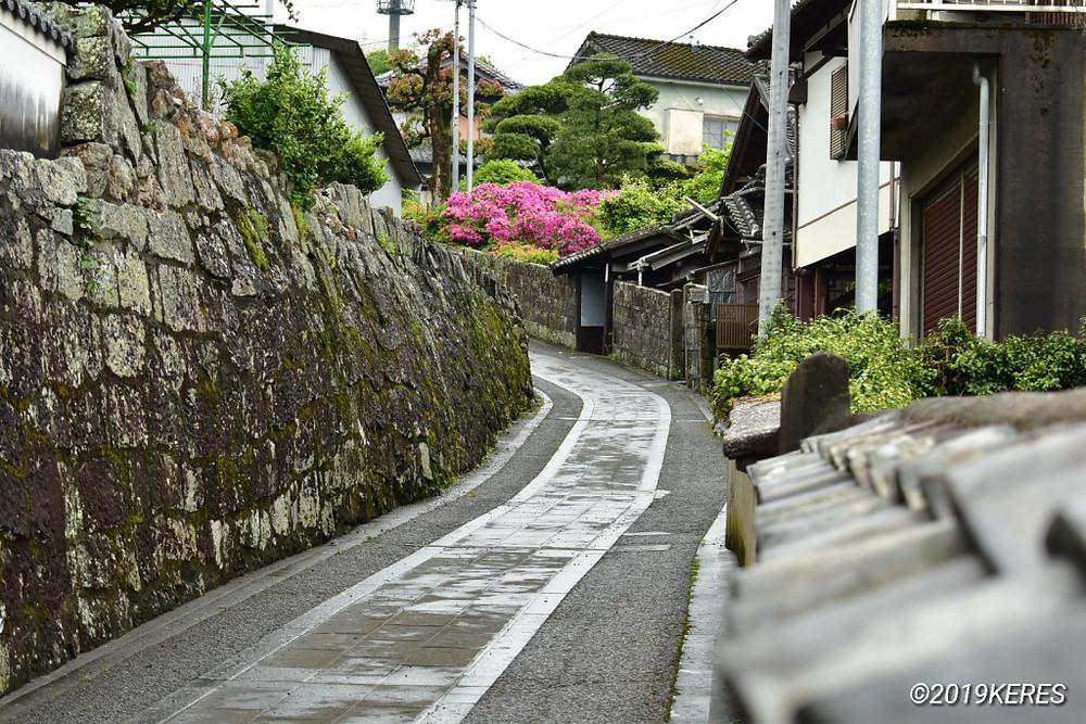 武家屋敷やお寺さんの雰囲気が素敵な二王座界隈