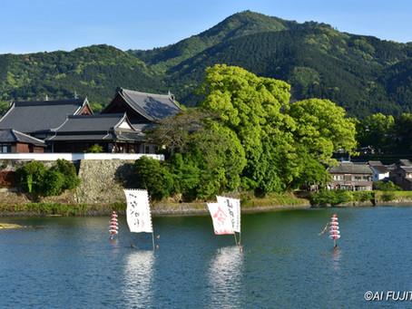 臼杵・最高の聖火景色と山内流