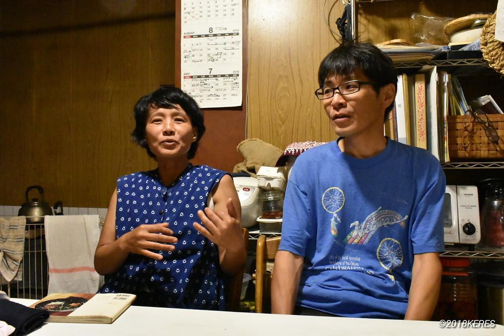 大分県臼杵市にやってくるまでを語る髙松夫妻