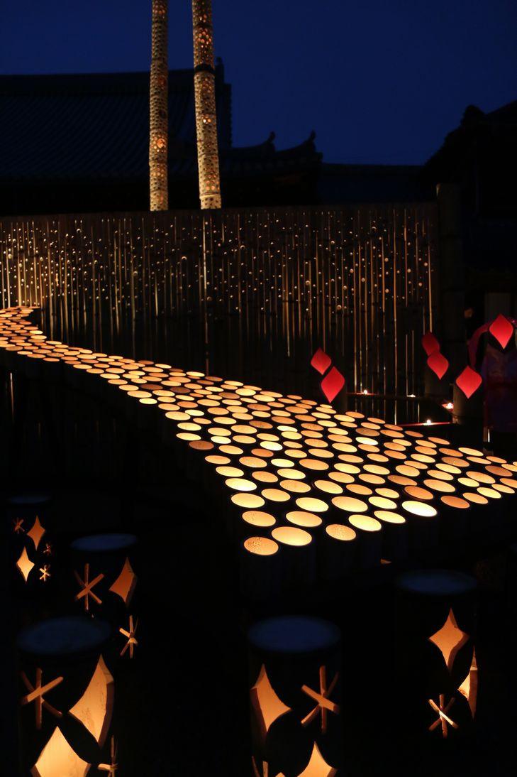 臼杵市のうすき竹宵