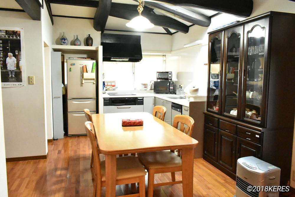 臼杵おためしハウスのオール電化の台所