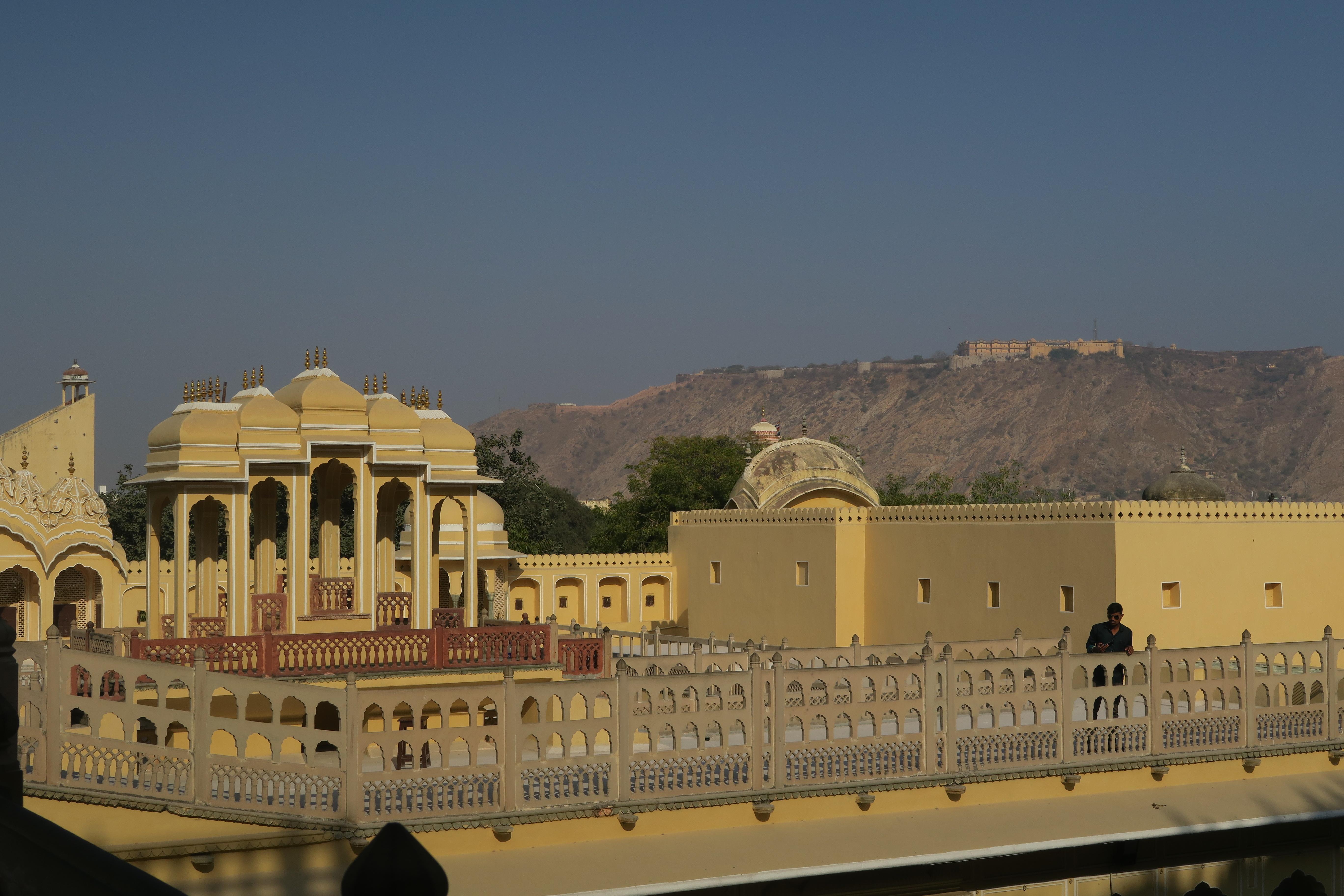 Opevnění ve státě Radžastán