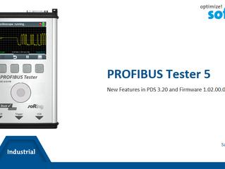 "Upgrade Profibus tester PBT5 (BC-700-PB) : Nové funkce ""Oscilloscope"", ""Locate statio"