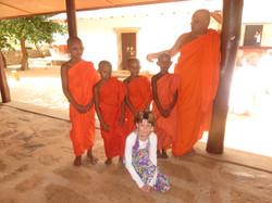 mníšci v Mihintale