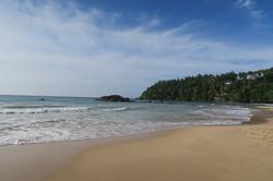 pláže na jihu MIrissa