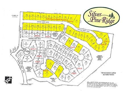 Silver Pine Ridge - Plat Map