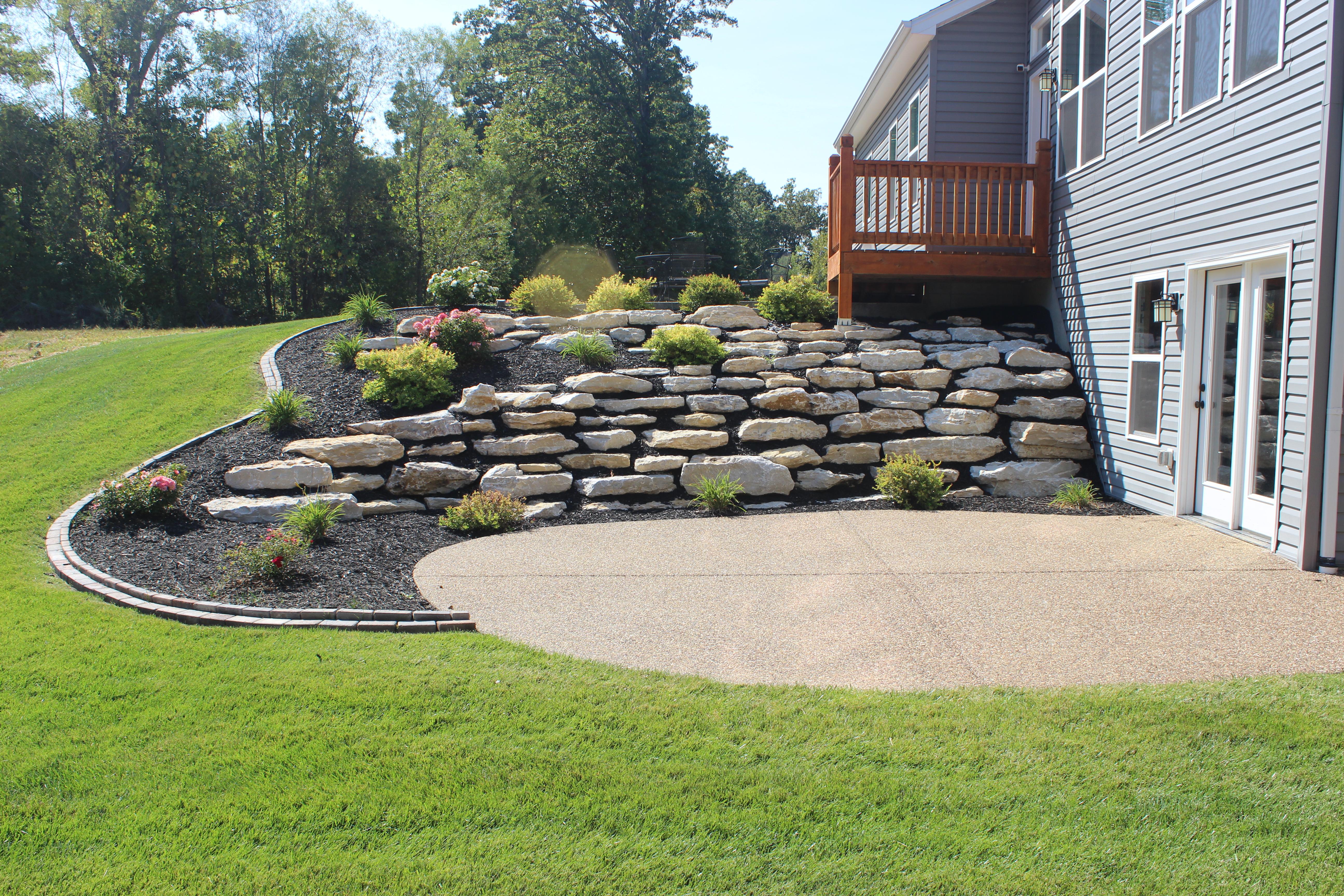 Custom Home Builder_Rock Wall1