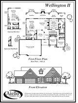 Camden V Floor Plan A_Aiello Homes