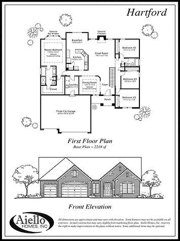Hartford Floor Plan_Aiello Homes