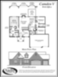 Camden V Floor Plan B_Aiello Homes