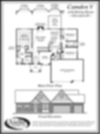Camden V Floor Plan A_Aiello Homes