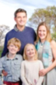 Kevin Murdoch and Family, Oak Bay Mayor