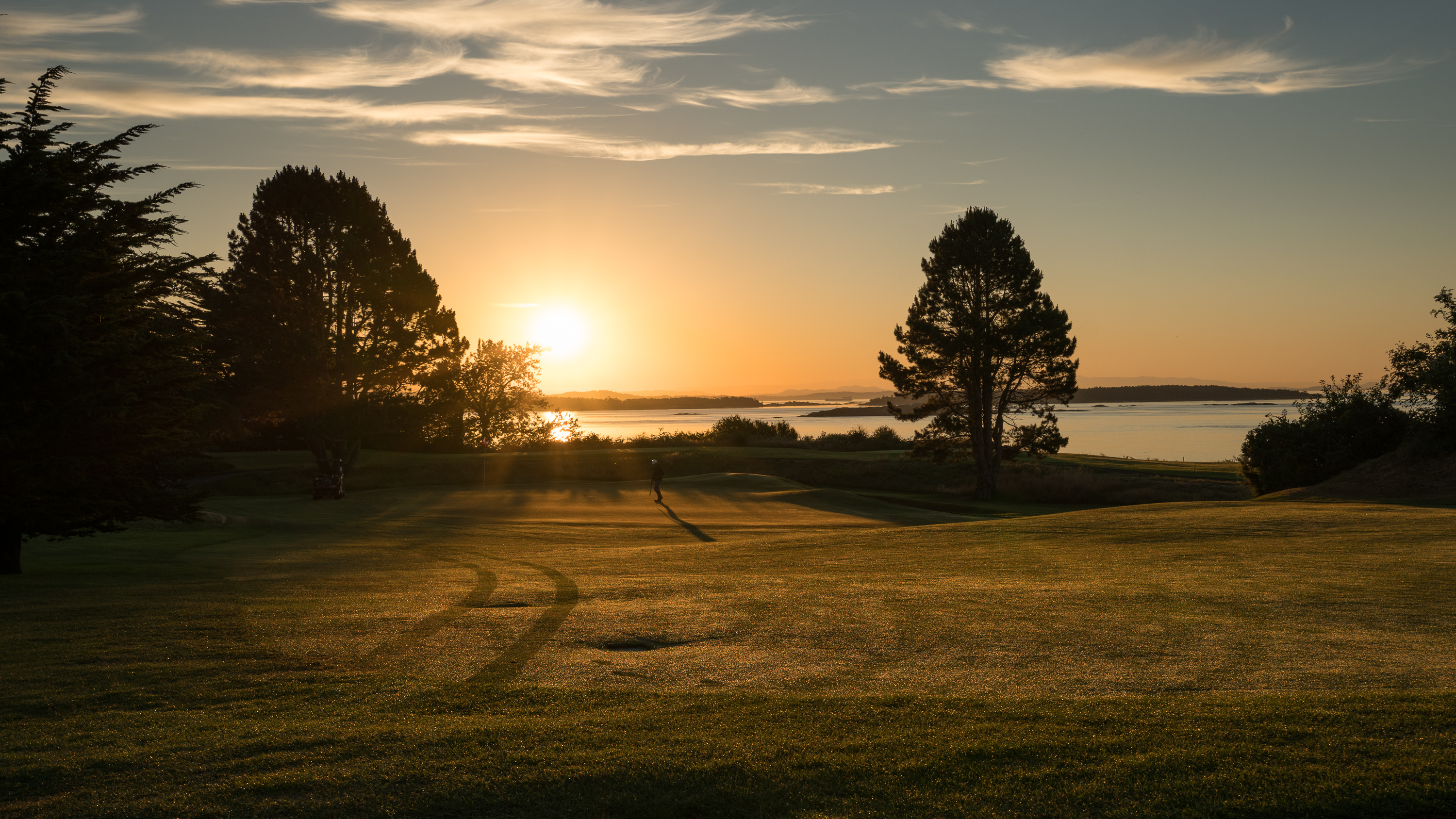 Victoria Golf Club at Dawn