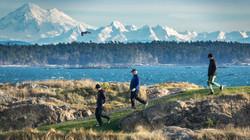 Victoria Golf Club unique vista