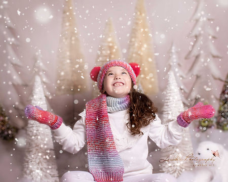 Christmas Mini Session Snowing wirral ph