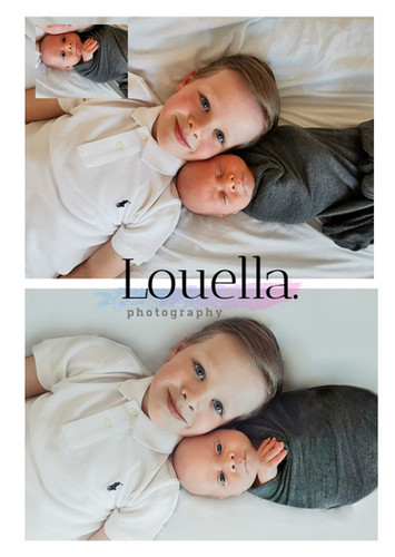 siblings session newborn photography