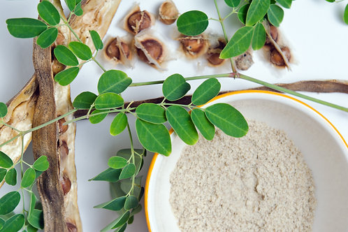 Organic Moringa Oleifera Flower Powder