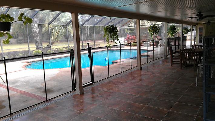 Pool Self-Closing Gates - Pool Guard Orlando