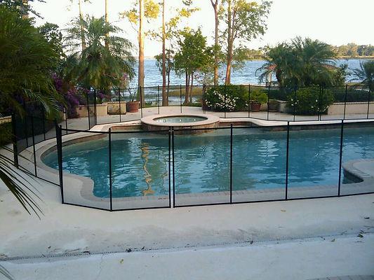 Pool Safety Fence - Pool Guard Orlando