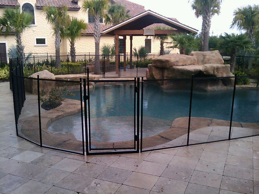 Pool Safety Fence - Pool Guard Orlando