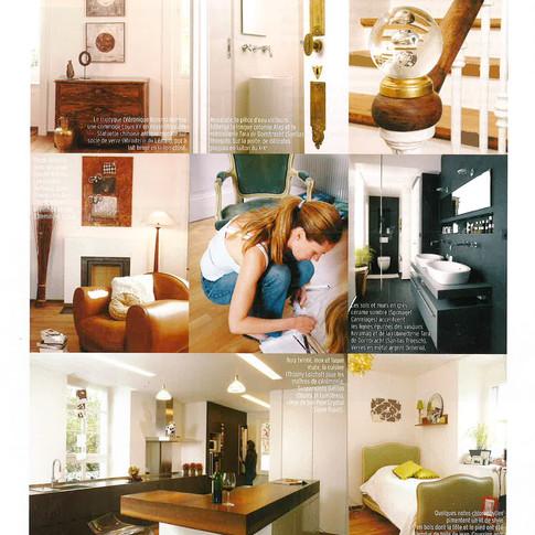 Marie Claire - Transformation d'un appartement à Lausanne