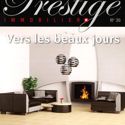 Prestige - Construction de villas individuelles à Crans
