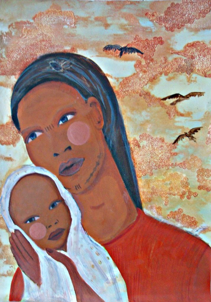 Mujer Oromo- OROMO LADY