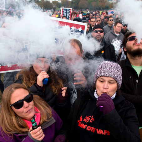 Trump backs off flavored vape ban he once touted