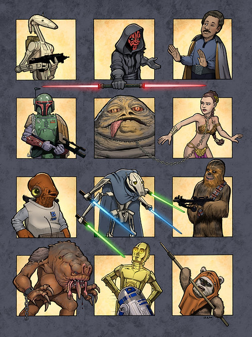 Star Wars outside the box